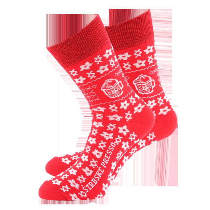 639025fe175 Dámske ponožky ČIČMANY horec. Štrbské Presso vás zahreje z vnútra aj z  vonku!